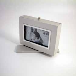 Silver Rotating Photo frame Album