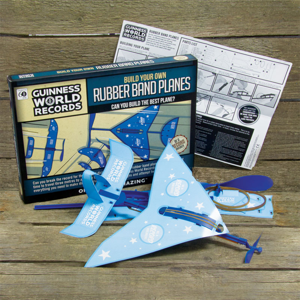Build Your Own Rubber Band Planes - Build Your Own Gifts