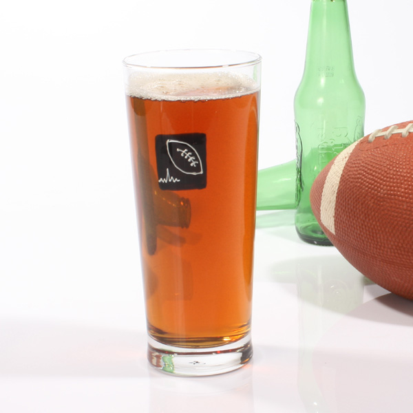 Rugby Pint Beer Glass - Beer Gifts