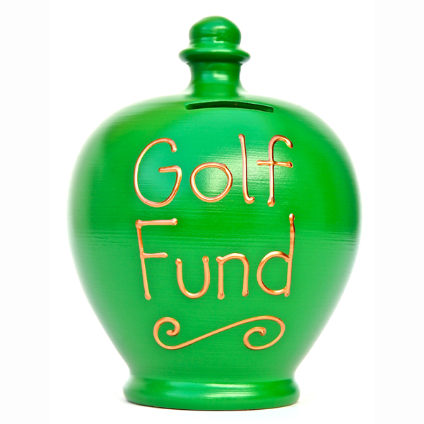 Golf Fund Personalised Terramundi Money Pot