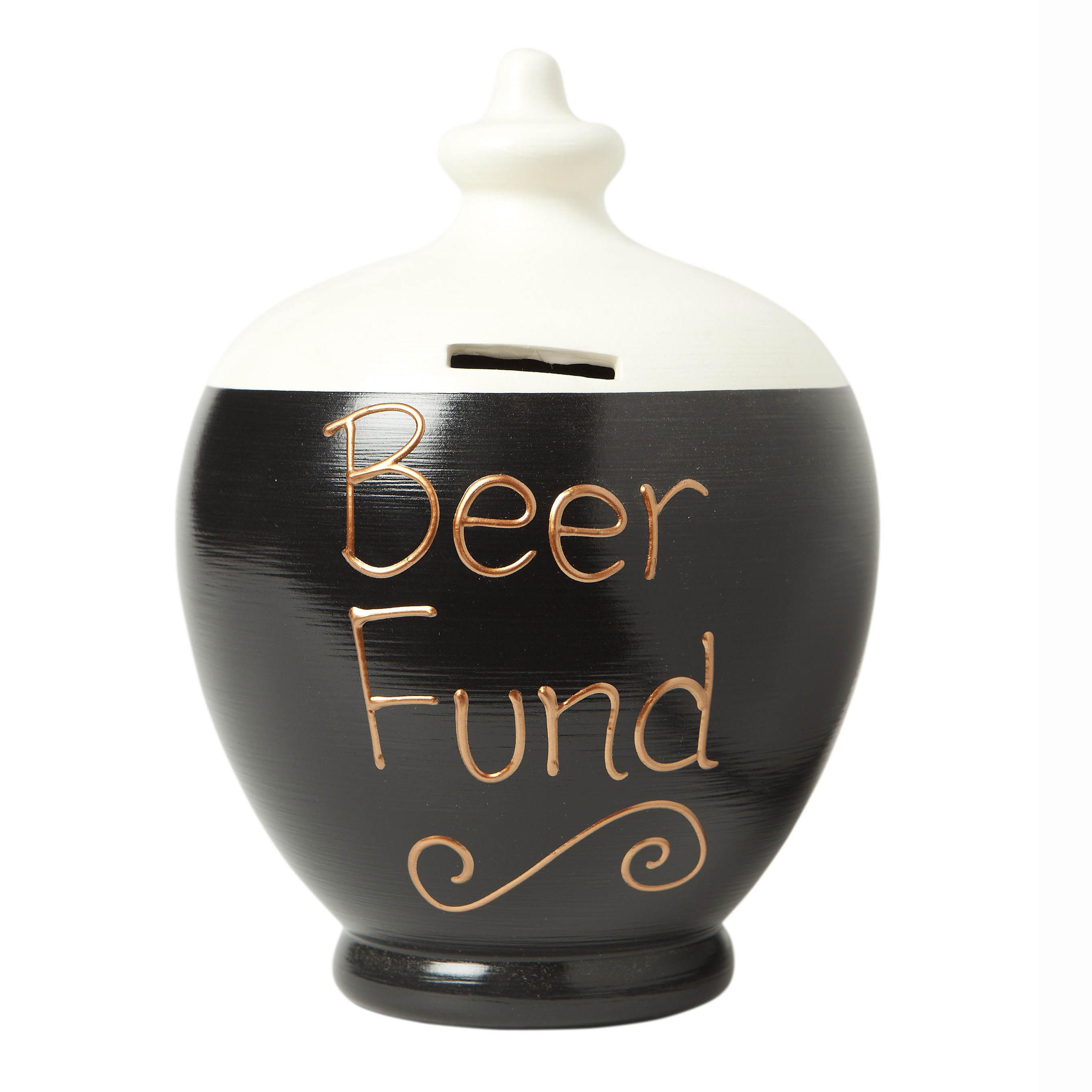 Beer Fund Personalised Terramundi Money Pot - Beer Gifts