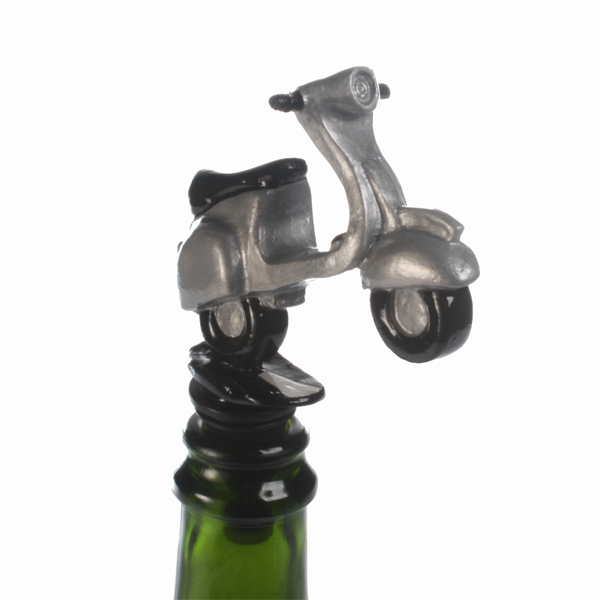 Scooter Bottle Stopper - Scooter Gifts