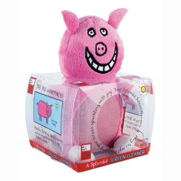 Pig Of Happiness Screen Cleaner - Pig Gifts