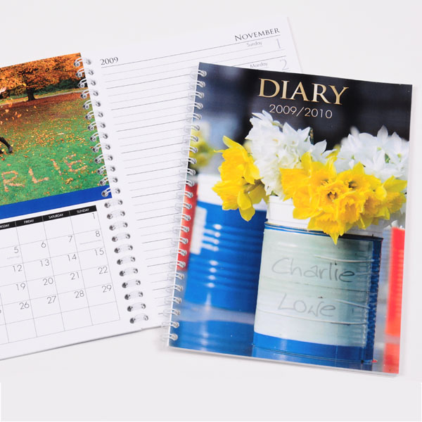 Personalised Seasons Image Diary