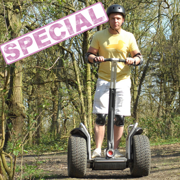 Segway Rally Thrill For One Special Offer