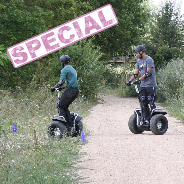 Segway Rally Thrill for Two Special Offer - Segway Gifts