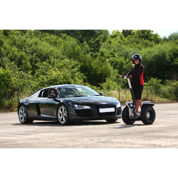 Two Supercar Driving Blast And Off Road Segway Experience