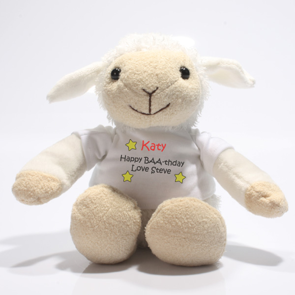 Personalised Valentine's Little Lamb