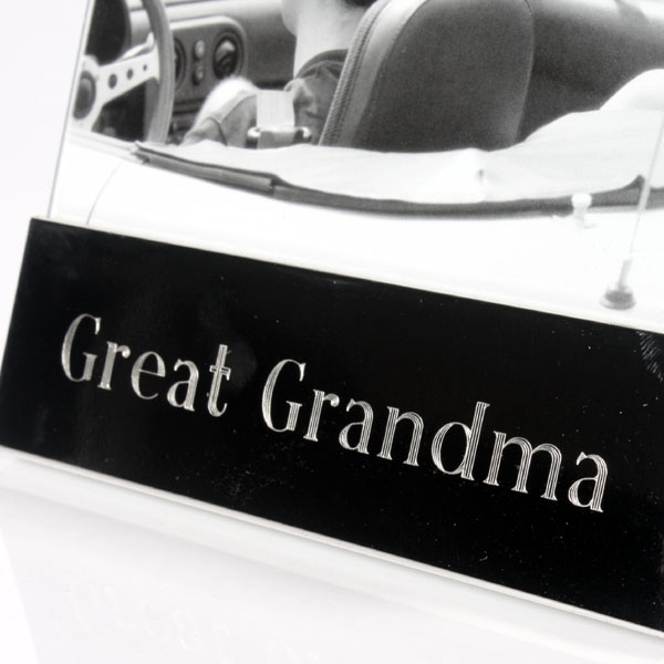 Great Grandparent Shiny Silver Frame - Shiny Gifts