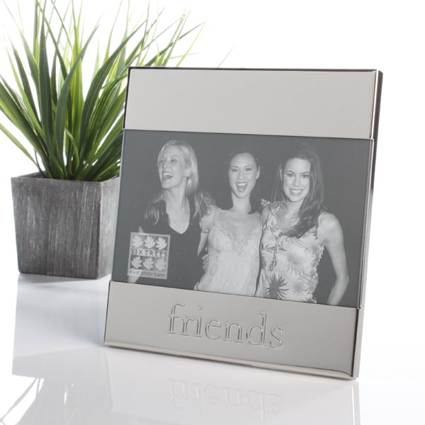 Shiny Metal Friends Frame - Friends Gifts