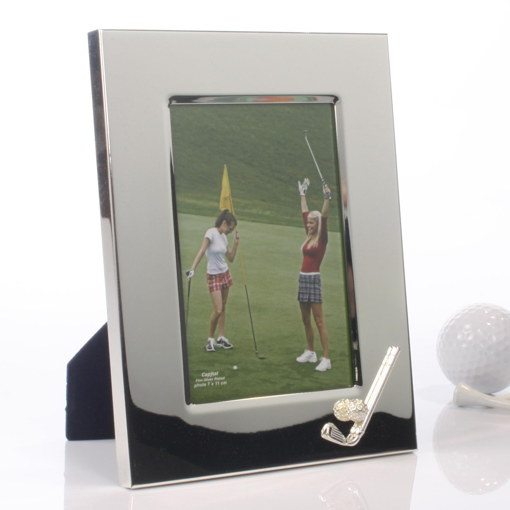 Personalised Golf Photo Frame