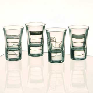18th Birthday Tally Shot Glasses