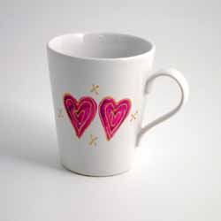 Two Hearts Signature Mug