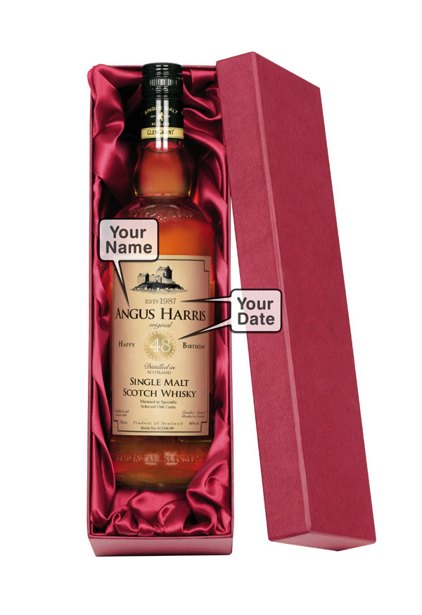 Personalised Father of Groom/Bride Malt Whisky Luxury Gift B