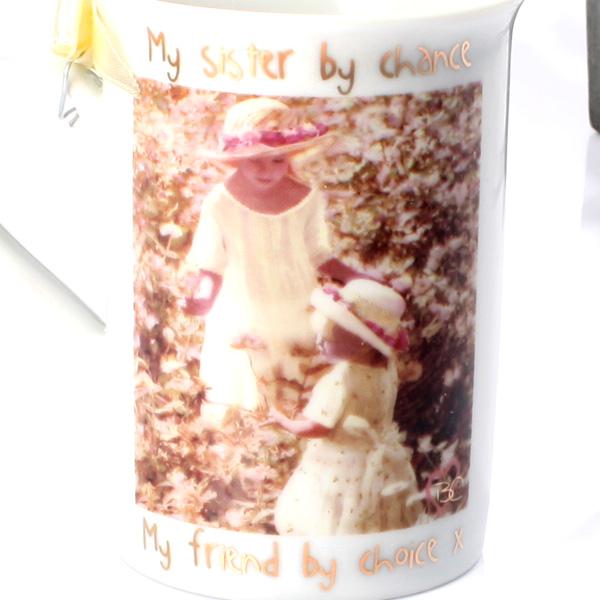 Sister and Friend Porcelain Mug - Sister Gifts