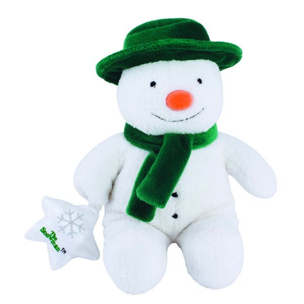 The Snowman Musical Soft Toy - Soft Toy Gifts