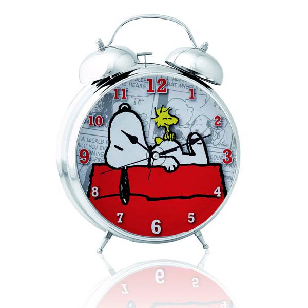Snoopy Twin Bell Alarm Clock - Alarm Clock Gifts