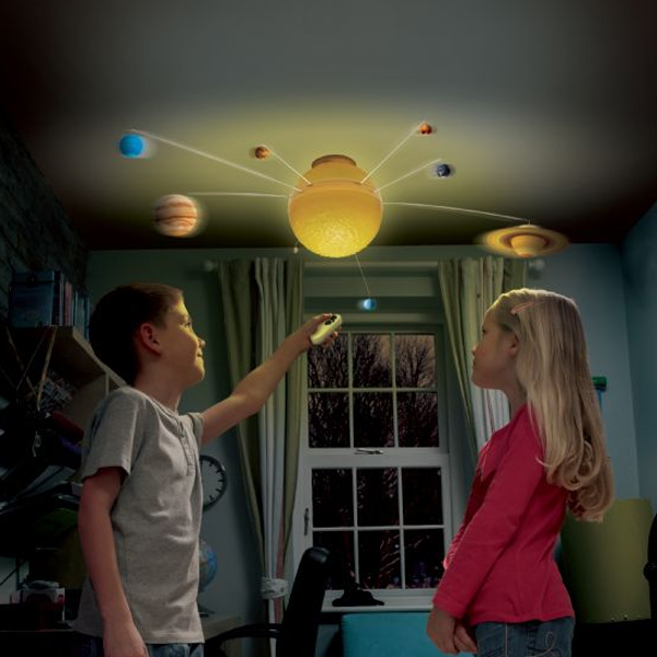 RC Illuminated Solar System Mobile - Rc Gifts