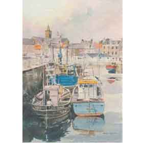 Anstruther, Scotland by Alan Reed Overseas Delivery