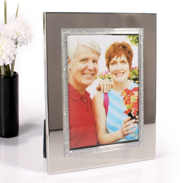Personalised Sparkly Photo Frame 6 X 4 - Sparkly Gifts