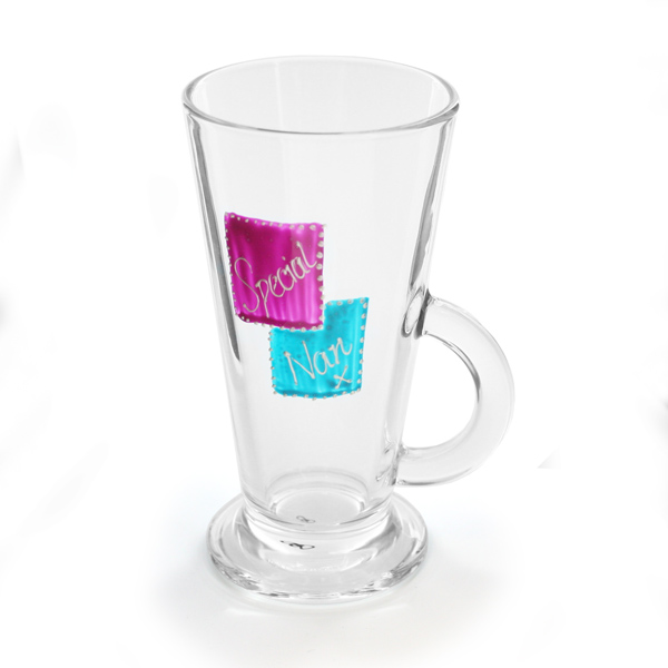 Special Nan Latte Glass - Nan Gifts