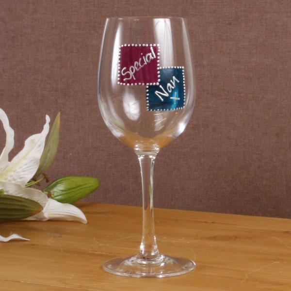 Special Nan Wine Glass - Nan Gifts