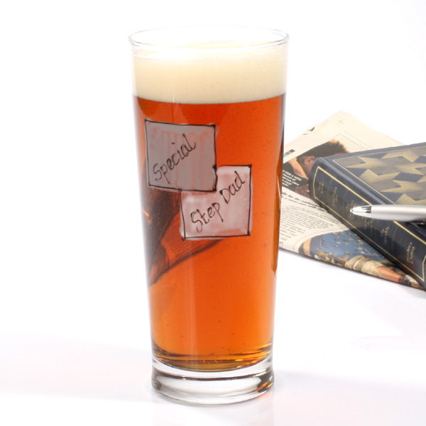 Special Step Dad Pint Glass - Dad Gifts