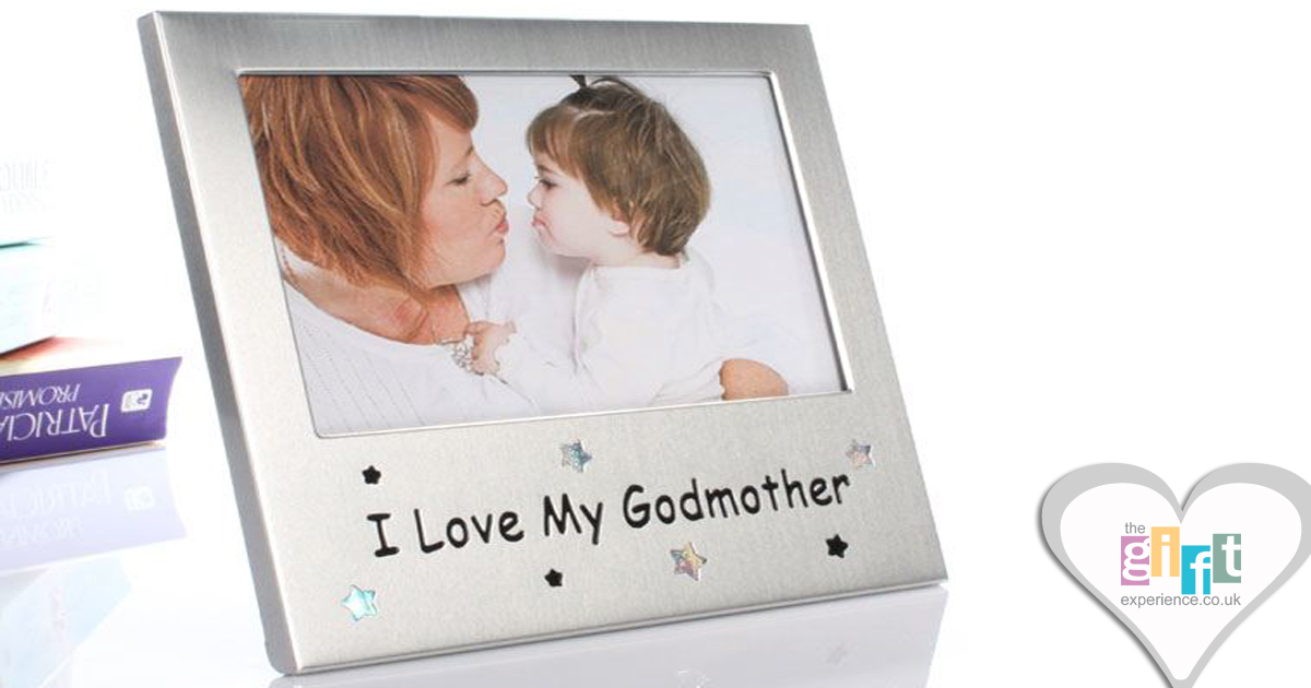 I Love My Godmother Photo Frame