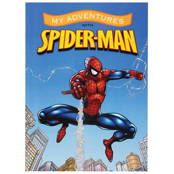 Personalised Spider-Man Adventure Book - Marvel Gifts