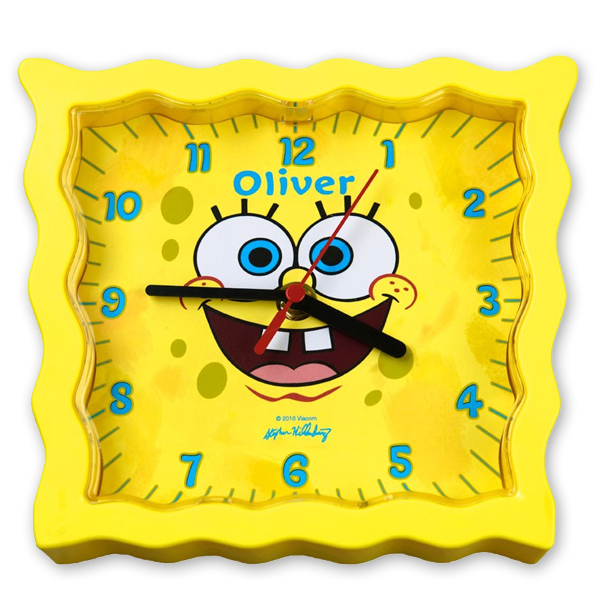 SpongeBob SquarePants Face Clock - Spongebob Squarepants Gifts