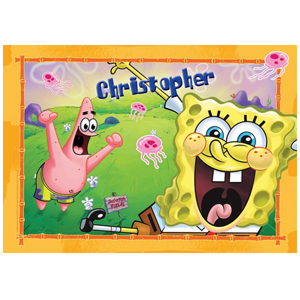 SpongeBob SquarePants Personalised Placemat - Spongebob Squarepants Gifts