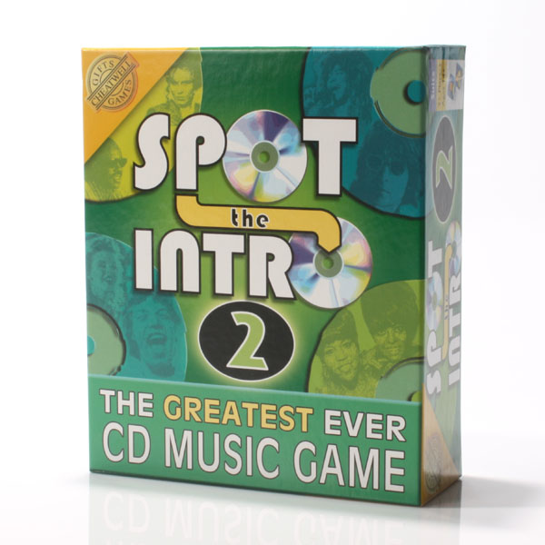 Spot The Intro Music Game 2 - Music Gifts
