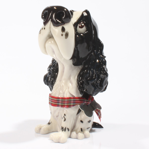Personalised Pooch - Springer Spaniel Black - Dogs Gifts