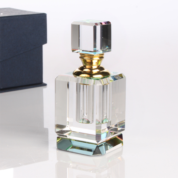 Personalised Square Shaped Perfume Bottle - Perfume Gifts