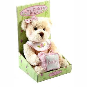 New Baby Teddy Bear - Girl - Teddy Gifts