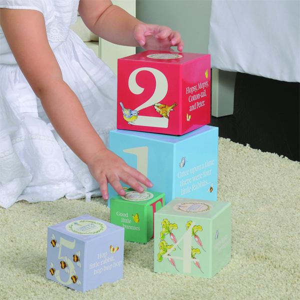 Peter Rabbit Stacking Blocks - Peter Rabbit Gifts
