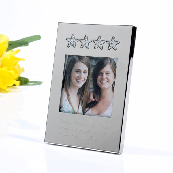 Mini Personalised Stars Frame - Stars Gifts