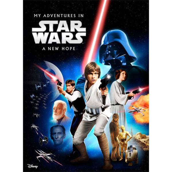 My Adventures in Star Wars IV: A New Hope - Personalised Book Big Size - Star Wars Gifts