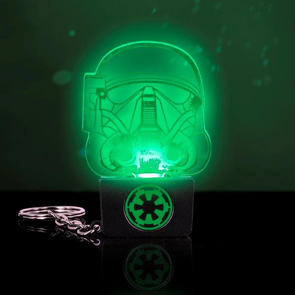 Star Wars Death Trooper Keyring Light - Keyring Gifts