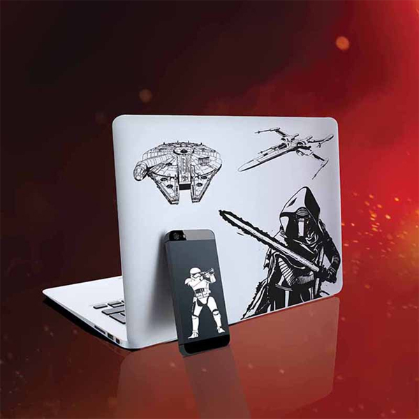 Star Wars Episode VII Gadget Decals - Star Wars Gifts