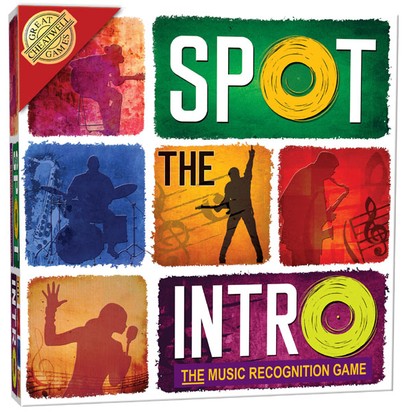 Spot The Intro Board Game - Board Game Gifts