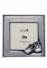 Baby Photo Frame with Booties