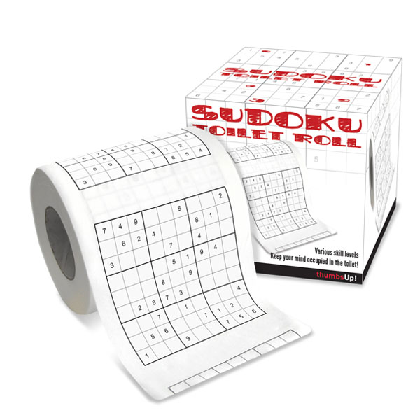 Sudoku Toilet Roll - Sudoku Gifts