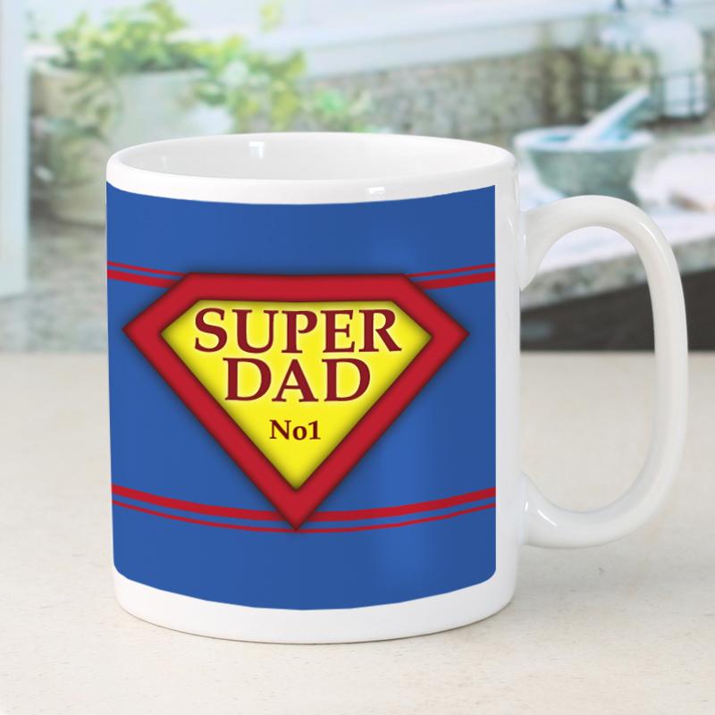 Super Dad Personalised Mug