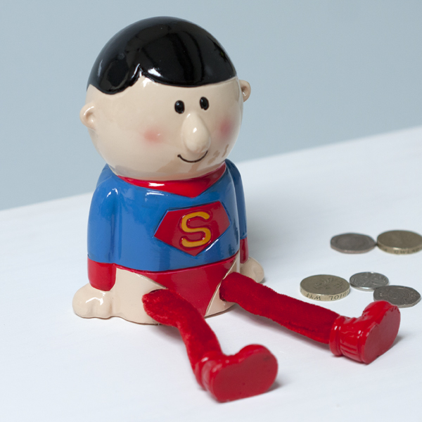 Super Hero Money Box - Superman Style - Superman Gifts