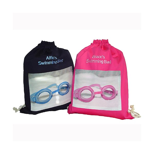 Personalised Drawstring Swimming Bag Cherise - Swimming Gifts