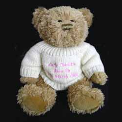 Bridesmaid Message Bear