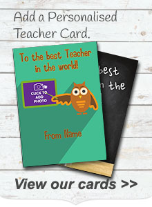 Personalised Teacher Cards