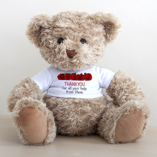 Personalised Thank You Bear