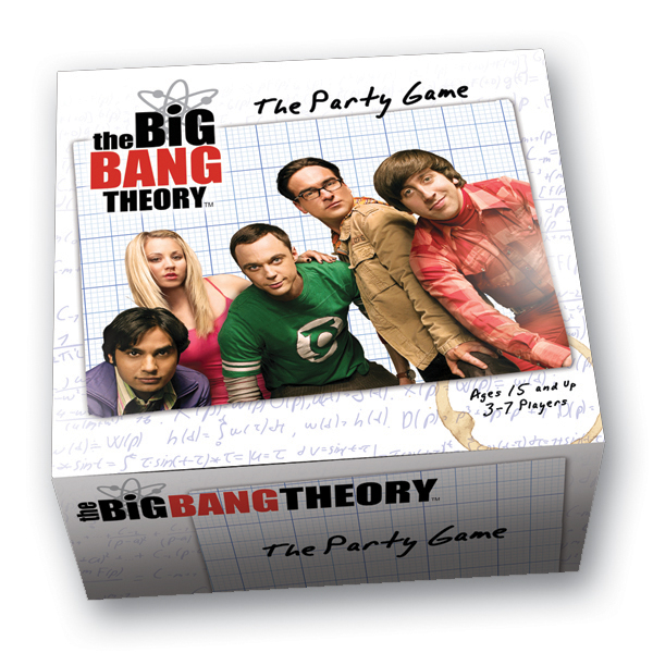 The Big Bang Theory Party Game - The Big Bang Theory Gifts